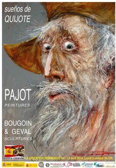 """Marcel Nino Pajot: """"Don Quichotte"""", expo Pajot à Périgueux Marcel, Fine Art, Drawings, Amazing Art, Children Illustration, Painting, Illustration Art, Art"""