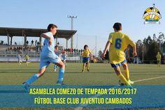 CORES DE CAMBADOS: ASEMBLEA DO FUTBOL BASE DO CAMBADOS TEMP.16-17