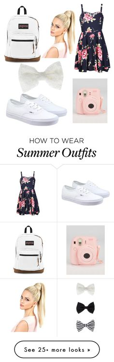 Just another outfit by oliveclayton on Polyvore featuring Ally Fashion, Vans, JanSport and Accessorize