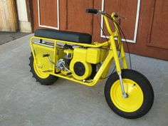 Who didnt want one of these when you were younger ? 1959 MUSTANG TRAILMASTER SCOOTER OR MINIBIKE Mini Motorbike, Mini Bike, Honda Motorbikes, Bike Trails, Biking, Brat Cafe, Scooter Motorcycle, Motor Scooters, Cool Motorcycles