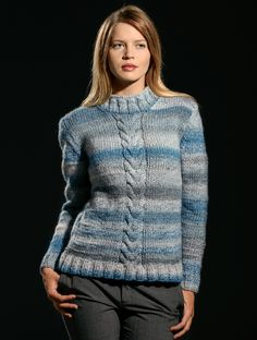 a1478c370133af Premier Yarns Enigma Knit Sweater Pattern Library