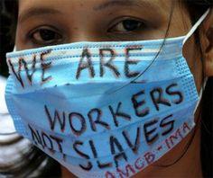 Workers aren't slave Anti Capitalism, Oppression, Purple Hibiscus, Jim Crow, Jesus Christ, Bridesmaid, Image, Birds, Maid Of Honour