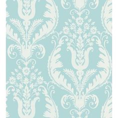 Features:PretrimmedScreen printTrimmedWashable / StrippableProduct Type: RollStyle: Farmhouse / CountryPattern: DamaskLife Stage: AdultTheme: Flowers & plantsTexture: Color: Finish: Primary Material: VinylPrimary Material Details: 100% Vinyl coated paperWater Resistant: NoWater Resistant Details: Stain Resistant: NoHeat Resistant: NoMildew Resistant: NoPhthalate Free: Application Type: Non-pastedNon-Pasted Details: Match Type: Removal Type: StrippableWashable: YesPaintable: NoProduct Care: W Coastal Wallpaper, Damask Wallpaper, Wallpaper Roll, Cool Wallpaper, Wallpaper Warehouse, French Grey, Traditional Wallpaper, Acanthus, Contemporary Design