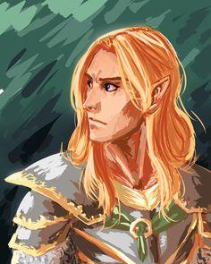 Glorfindel by shackal-jackal Glorfindel, Lotr Elves, Legolas And Thranduil, Shadow Of Mordor, Elf Art, Concerning Hobbits, Jrr Tolkien, The Elf, Middle Earth