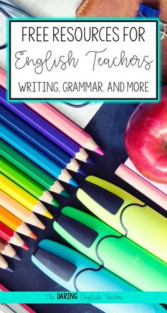 Free resources and activities for middle school and high school English teachers. Literature, writing, grammar, poetry, and more!