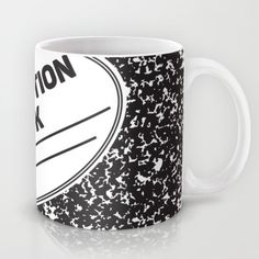 Composition Notebook College School Student Geek Nerd Mug by Season Of Victory | Society6