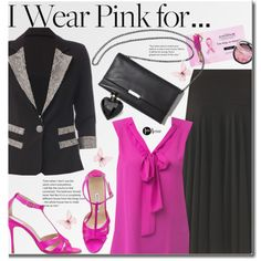 How To Wear I Wear Pink for... breast cancer research Outfit Idea 2017 - Fashion Trends Ready To Wear For Plus Size, Curvy Women Over 20, 30, 40, 50