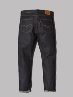 Levi's 501 Customized Tapered Jeans (Long Day Selvedge)