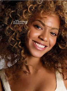 Beyonce is such a natural beauty. She's such a great role model to young girls.