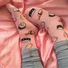 Image about love in Kawaii ~ by ♡ Vintage Loser ♡ Cute Socks, My Socks, Happy Socks, Outfits Dress, Mode Outfits, Outfits Inspiration, Elite Model, Mein Style, Crazy Socks