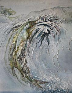 the work of textile artist Annemieke Mein.
