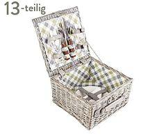 Picknickkorb Derby für 2 Personen, 13-tlg., B 30 cm