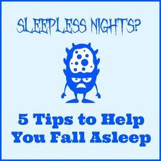 Sleepless Nights? 5 Tips to Help You Fall Asleep | Play 2 Learn with Sarah