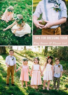 Styling tips for your ring bearer + flower girl