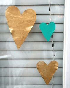 window clings made from Mod Podge