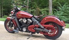2016 Indian Scout Motorcycle - Thunder Black : Custom Bikes
