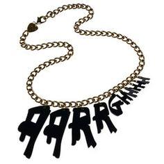 Aarrghhh Necklace
