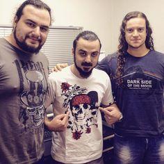 Maestrick e Santo Rock novos parceiros de estrada! Camisetas top pra quem vive o Rock!