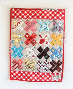 cross mini quilt