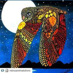 Instagram media editorasextante - #Repost @reinoanimalolivro with @repostapp ・・・ O que dizer dessa Coruja colorida pela Aurea @aurea._._._ simplesmente maravilhosa!! Obrigada por nos dar a chance de compartilhar seu trabalho tão lindo!! -------------------------------------------------- Quer ver seu desenho aqui também?! Envie por direct ✅Marque o perfil ou pela #⃣reinoanimalolivro e não esqueça de nos seguir