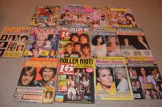 Over 225 Teen Magazines Twilight One Direction Micheal Jackson Popstar 1970's