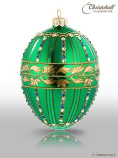 Mostowski by Christoball Ei À la Fabergé Smaragd
