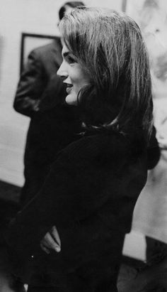 Jackie O. is an incredible fashion icon. I love a classic black sweater for the colder months.