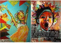 Ashley Powell Bahamian artist