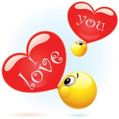 Share some love with this adorable emoticon that helps you express something sweet.