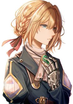 Violet Evergarden Anime, I Love You Means, I Want To Know, Light Novel, Novels, Fan Art, Fictional Characters, Fanart, Fantasy Characters