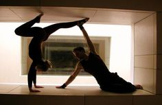 contemporarty partner dance poses | Our Acrobalance Shows can be incorporated into street or circus shows ...