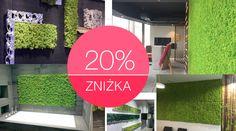 MOSS naturalny porost - podkład aluminium Zielony Słoń - sklep internetowy