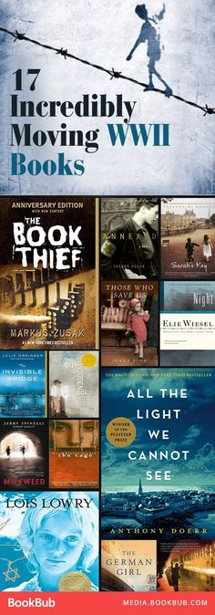 17 WWII historical fiction novels worth a read. Including great novels for history buffs as well as some young adult stories.