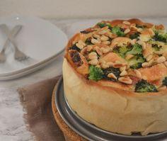 Quiche met Broccoli & Brie. Een heerlijke combinatie van groeten & brie…