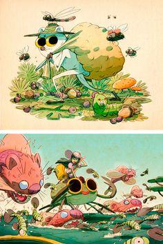 Fuck Yeah Illustrative Art! • theartofanimation: Fabien Mense