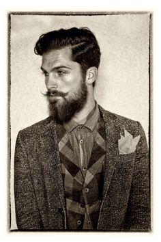 Beard #beard #facialhair #stash #men #rugged #manly #woodsman #lumberjack