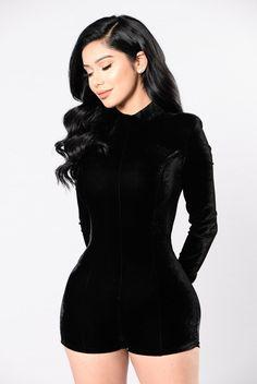 RIRI VIBES ROMPER - BLACK #style #fashion #trend #onlineshop #shoptagr