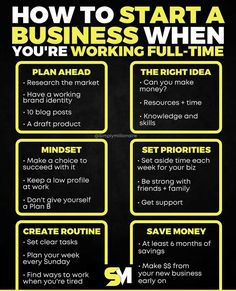 Business Motivation, Business Quotes, Business Tips, Online Business, Starting Your Own Business, Promote Your Business, Business Entrepreneur, Business Marketing, Financial Tips