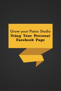 Did you know you can use your personal Facebook page to get new students? Here's how...