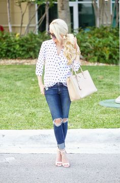 A Spoonful of Style: Simple Polka Dots