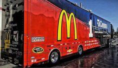 McDonalds, Cessna, Ganassi Racing, NASCAR, Hauler, Transporter