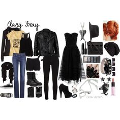 """""""Clarissa """"Clary Fray"""" Fairchild-Morgenstern"""" by on Polyurethane Hallowen Costume, Halloween Kostüm, Cosplay Costumes, Edgy Outfits, Cute Outfits, Fashion Outfits, Fashion Boots, Clary Fray Outfit, Clary Fray Style"""
