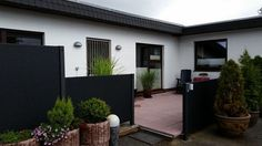 guide2Niebüll Garage Doors, Outdoor Decor, Home Decor, Terrace, Ground Floor, Detached House, Entryway, Decoration Home, Room Decor