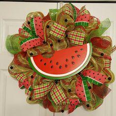 Summer..watermelon wreath