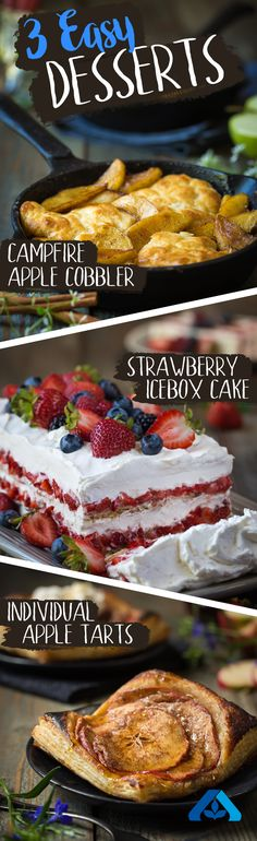 Labor Day made easy! These three tasty (and pretty) desserts are perfect for…