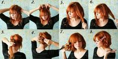 Quick hairstyle in the morning Most women take a lot of time to get ready in the morning . Choosing their hairstyle for the morning is always the biggest concern for them. Quick Hairstyles, Bridesmaid Hair, Hair Hacks, Hair Trends, New Hair, Take That, Hair Styles, Beauty, Women