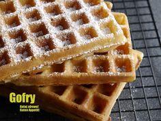 Gotuj zdrowo!Guten Appetit!: Gofry - super lekkie i chrupiące