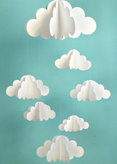 Paper Cloud Mobile #Clouds #Mobile by lllllol