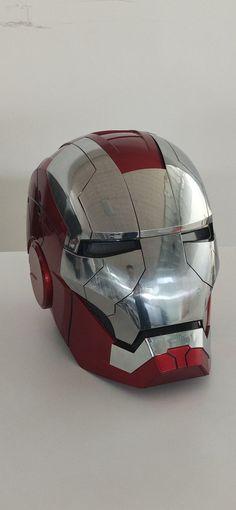The Advanced Iron Man MK5 Helmet In Real Life.