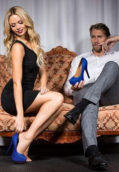 #blauw #hakken #heels #pumps #shoppen in artikel 5 Schoenenargumenten   Schoenen.nl